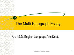 the multi paragraph essay ppt video online  the multi paragraph essay
