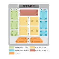 Seating Charts The Regency Ballroom