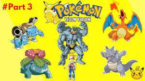 3 - Pokemon - Yellow Complete Third Gym - YouTube trong 2020