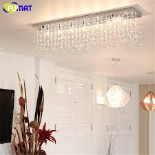 usd 2126 40 piece fumat k9 crystal chandelier modern rectangle led g9 art deco suspension lighting hotel living room kitchen