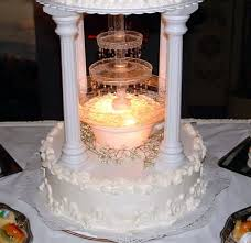 wedding cakes with lights. Perfect Wedding Wedding Cakes With Fountains And Lights Inside With A