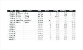 Diet Log Sheet Free Printable Exercise Log Sheets Weight Training Sheet Workout