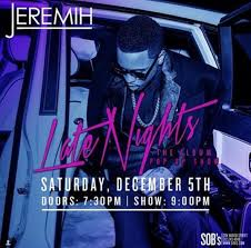 recap jeremih hosts free show in nyc after releasing late nights al