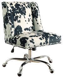 leopard print office chair. modren print draper office chair udder maddness black transitionalofficechairs throughout leopard print chair f