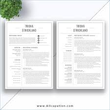 Cv Templates Free Download Resume Example