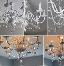how do you attach crystals to a chandelier designs