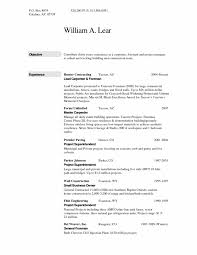 Resume Sample For Construction Worker Free Resumes Tips Rebar