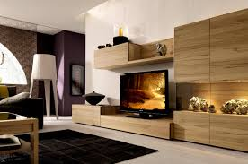 rustic contemporary furniture. Unique Tv Showcase Furniture Design Images Light Brown Rustic Wood Cabinet Modern Black Tile Living Room Contemporary