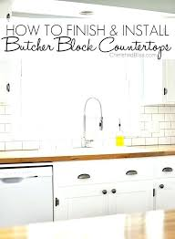 butcher block oil best countertop walnut treating vs mineral driven by decor