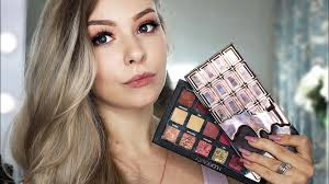 i heart chocolate rose gold dupe for huda beauty rose gold