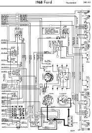 1958 68 ford electrical schematics 1965 68 ford sequential tail lights click on > this site squarebirds org s trl also features the 1965 thru 1968 sequential turn signal circuit