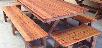 Indoor and outdoor solid timber
