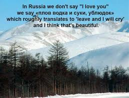 Russian Love Quotes Classy I Love You In Russian The Meta Picture