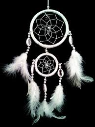 Dream Catchers For Your Car Amazon White Dream Catcher with Feathers Wall or Car Hanging 29