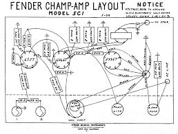 Fender ch 5c1 layout diagram