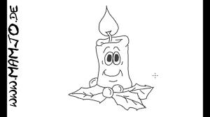 Adventskerze Einfach Und Schnell Zeichnen Tutorial