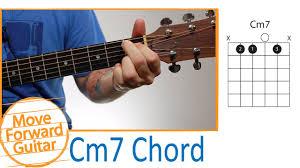 Guitar Chords For Beginners Cm7