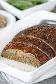 a healthy meatloaf recipe that is packed with carrots keeping this turkey meatloaf light and tender this weight watchers meatloaf is 1 smartpoint per