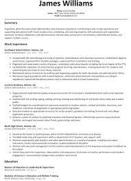 Resume Builder Free Experience Resumes