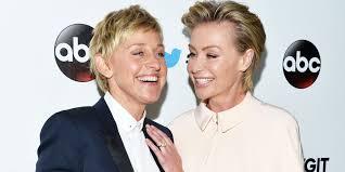 Ellen And Portia Ellen Degeneres And Portia De Rossi Reveal Their Holiday Card