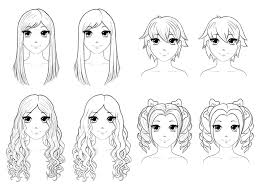 Anime Drawings Hair