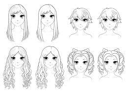 Anime Drawings Hair
