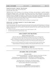 Resume Examples Templates Easy Recruiter Resume Example Detail
