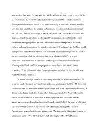 autumn history the vietnam war first essay  2 independent
