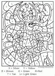 Kindergarten Christmas Math Coloring Pages#536659 Christmas ...