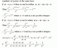 math laws laws of exponents iv grade 7 mathematics kwiznet math