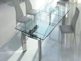 round glass dining table ikea dining tables for small spaces glass dining table expandable glass dining