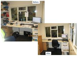 office unit. Office 5S Before And After Unit