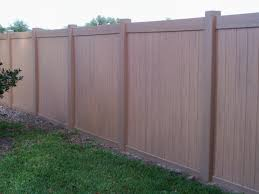 brown vinyl fence panels. Fence Dreadful Dark Brown Vinyl Picket Cool Alluring Inside Size 2304 X 1728 Panels O