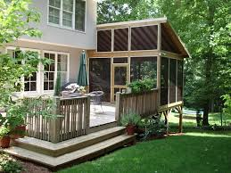 backyard patios and decks small types of for patio and deck designs backyard