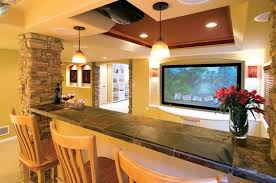 Great Finished when Creating Basement Home Theater Design Home