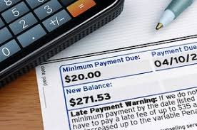 Minimum Credit Card Payment Credit Card Minimum Payments Moneyhub Compare Save