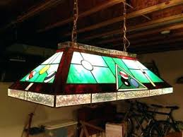 stain glass pool table light miller genuine draft stained free budweiser