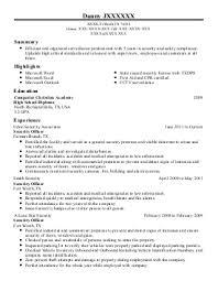 Sample Resume: Parking Attendant Resume Exles Near Fort.