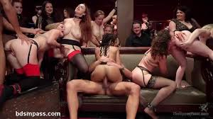 M m caning orgy