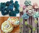 Цветы для декора из ткани