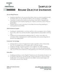 career objective examples for internships resume objectives examples sample resume objectives 2016 resume