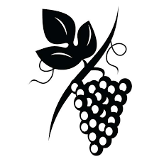 grapes clipart black and white. grapes clip art #68 clipart black and white