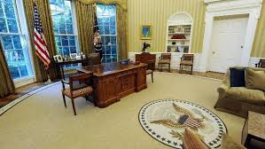 oval office carpet. Barack Obama\u0027s Newly Redecorated Oval Office Of The White House With New Carpet, Couches And Carpet