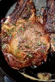 skillet rib eye steaks recipe add a pinch