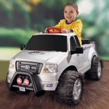 REVIEW: 6V Fisher Price Power Wheels Ford F150 Little Kids Ride On ...