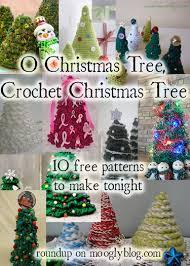 Free Crochet Christmas Tree Patterns New O Christmas Tree Crochet Christmas Tree Moogly