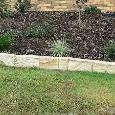 garden blocks. Sandstone Garden Edging Blocks Lm
