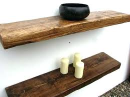 Salvaged Wood Floating Shelves Classy Solid Wood Floating Shelves Floating Wood Shelf Salvaged Wood