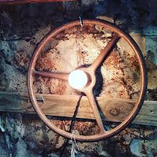 repurposed lighting. Repurposed Steering Wheel Light Lighting