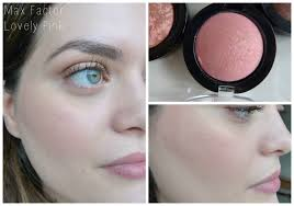 review swatches max factor creme puff blush collection